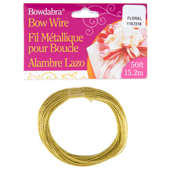 Gold Bowdabra Bow Wire